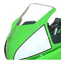 2008-12 Kawasaki 250R Hotbodies Racing Windscreen Clear