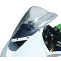2008-10 Kawasaki ZX10R Hotbodies Racing Windscreen Clear