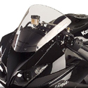 2009-12 Kawasaki ZX6R Hotbodies Racing Windscreen Clear
