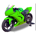 2008-12 Kawasaki 250R Hotbodies Complete Color Form Bodywork Kit