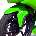 2008-12 Kawasaki 250R Hotbodies Color Form Front Fender Bodywork