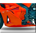 2009-12 Honda CBR600RR Hotbodies Color Form Lower Bodywork Panel
