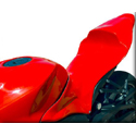 2009-12 Honda CBR600RR Hotbodies Color Form Race Tail Bodywork