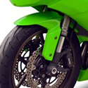 2009-12 Kawasaki ZX6R Hotbodies Color Form Front Fender Bodywork