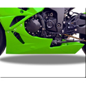 2009-12 Kawasaki ZX6R Hotbodies Color Form Lower Bodywork Panel