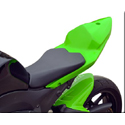 2009-12 Kawasaki ZX6R Hotbodies Color Form Race Tail Bodywork
