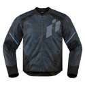 Icon Overlord Primary Motorcycle Jacket Black Size Large