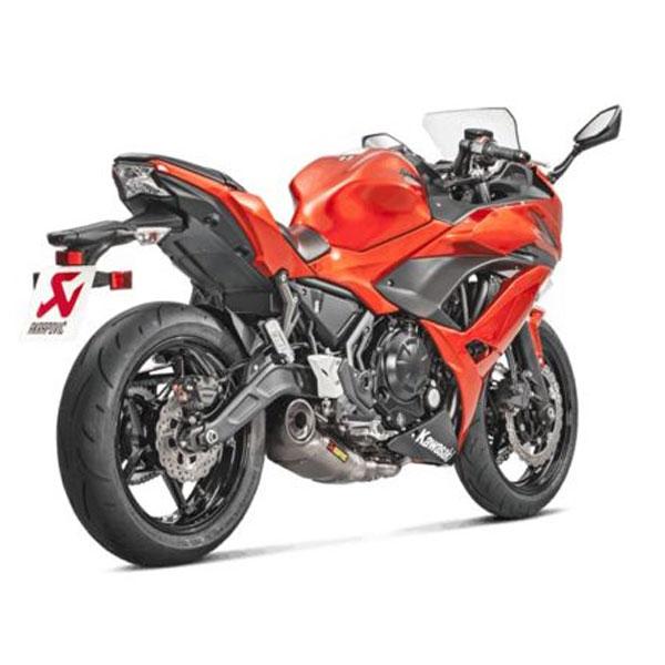 Kawasaki Ninja 650 Akrapovic Race Full System Titanium