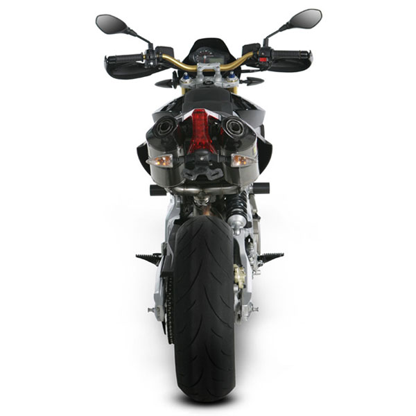08-16 Aprilia Dorsoduro Akrapovic Slip-On Exhaust System