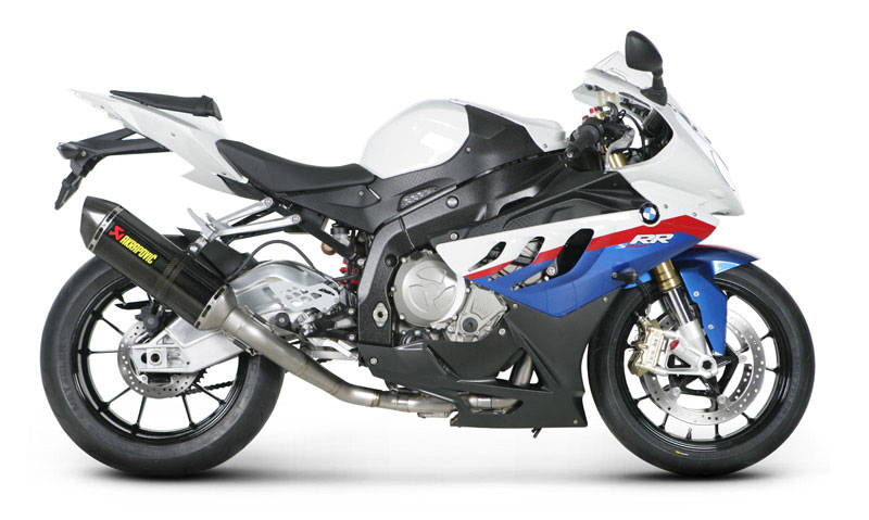 10-14 BMW S1000RR Akrapovic Evolution Full System Carbon Can