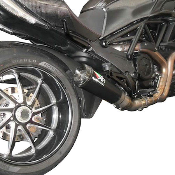 Ducati Diavel Austin Racing GP2 Slip-On Exhaust