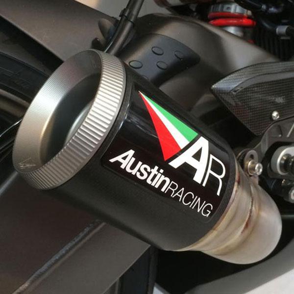 2017 BMW S1000RR Austin Racing GP1 Arcs De Cat Slip-On Exhaust