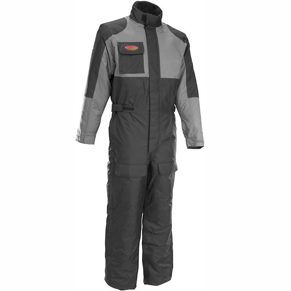 Firstgear Thermo 1Pc Textile Waterproof Suit Black/Gunmetal