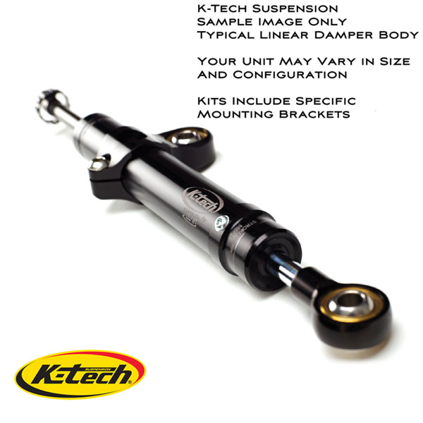 04-06 KTM Superduke 990 K-Tech Steering Damper Kit Street/Racing