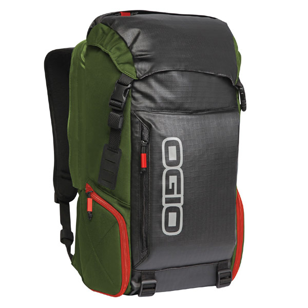 Ogio Throttle Motorcycle Backpack Green