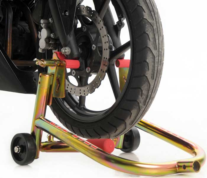 Pitbull Hybrid Forklift Front Wheel Stand With Removable