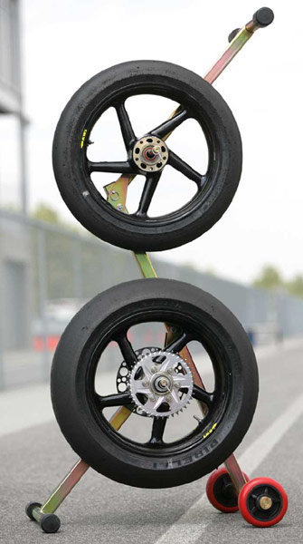 Pitbull Tire Tree Motorcycle Wheel Stand