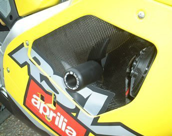 01-03 Aprilia RSV Mille R&G Cut Frame Sliders (Classic Style)
