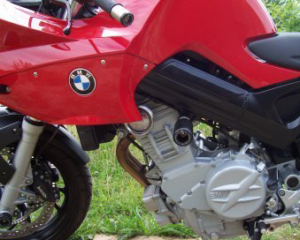 All BMW F800S R&G No Cut Frame Sliders (Classic Style)