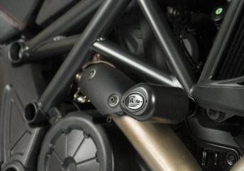 11-16 Ducati Diavel R&G No Cut Frame Sliders (Aero Style)