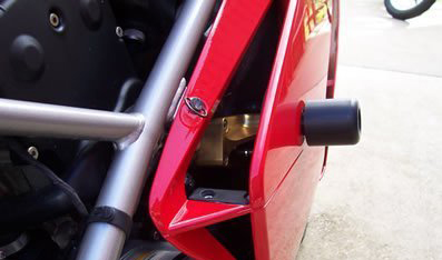 03-06 Ducati 749/999 R&G Cut Frame Sliders (Classic Style)