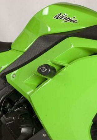 13-16 Ninja 300 R&G No Cut Frame Sliders (Aero Style)