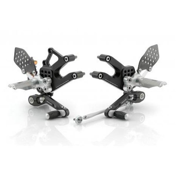 Rizoma REV Annodized Adjustable Rearsets