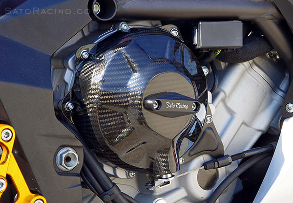 304937596c MV Agusta F3/Brutale 675/800 Sato Carbon Clutch Cover Right Side [MV ...