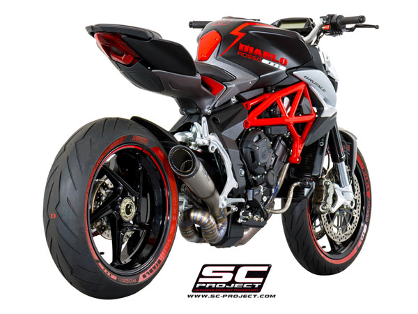 2016 MV Agusta Brutale 675/800/RR SC-Project S1 Silencer