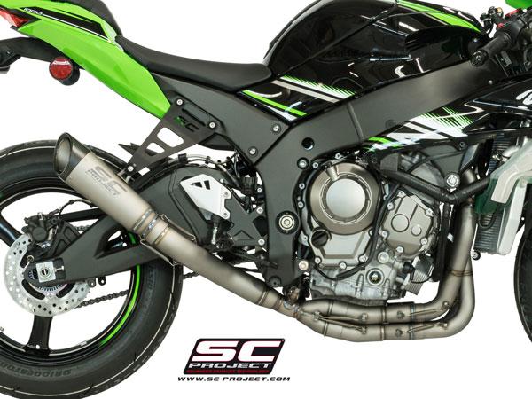 16-17 Kawasaki ZX10R SC-Project S1 Full Exhaust - Bayside