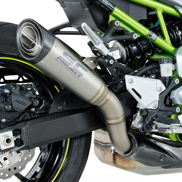 17-19 Kawasaki Z900 SC-Project S1 Silencer [K25-T41T