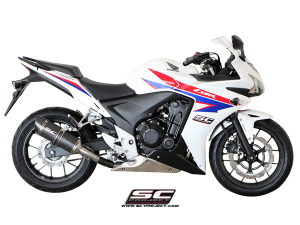 13-15 Honda CBR 500R SC-Project Oval Silencer
