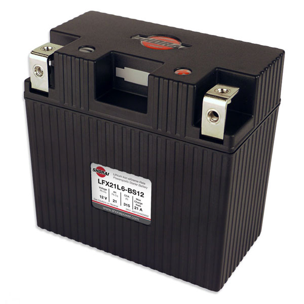 Shorai Lithium Iron Battery LFX21L6-BS12