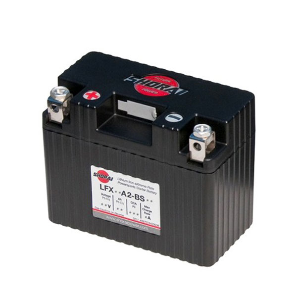 Shorai Lithium Iron Battery LFX18A2-BS06