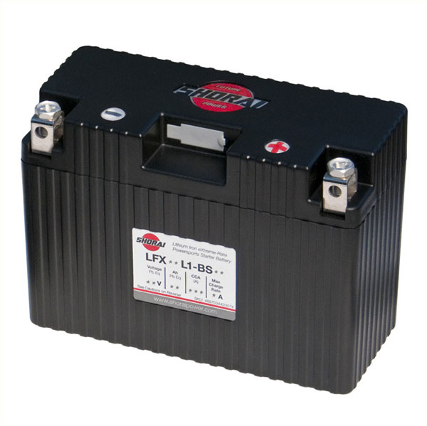 Shorai Lithium Iron Battery LFX18L1-BS12