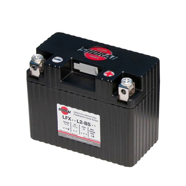 Shorai Lithium Iron Battery LFX07L2-BS12