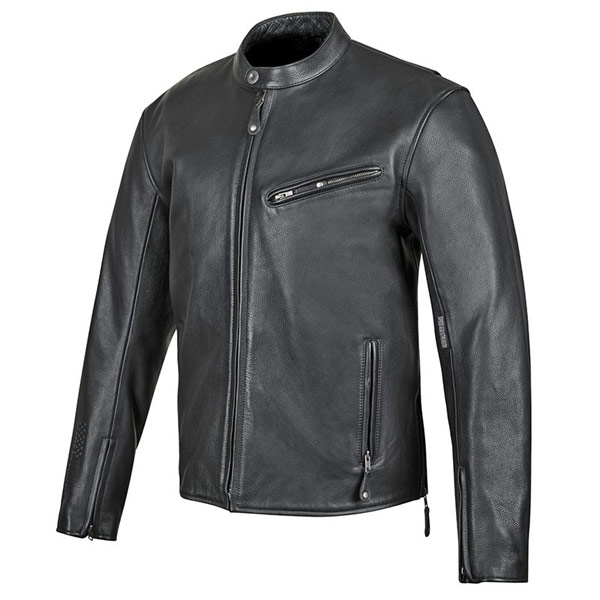 Speed And Strength America Rising Leather Jacket Black