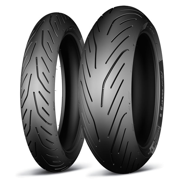 Michelin Power 3 Dual Compound Front And Rear Tire Set