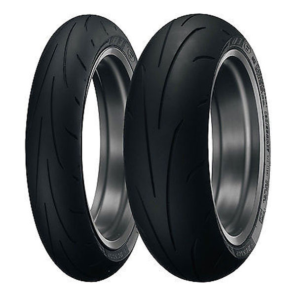 Dunlop Sportmax Q3 High-Performance Front And Rear Tire Set