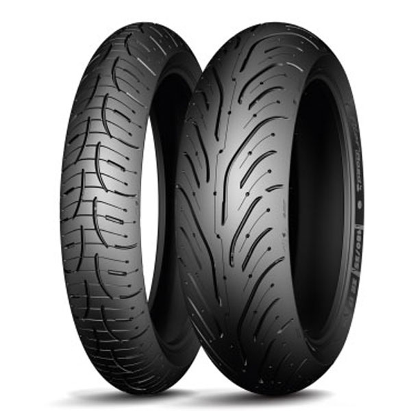 Michelin Pilot Road 4 Dual Compound Front And Rear Tire Set