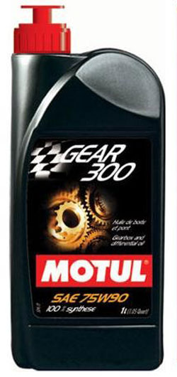 Motul Gear 300 Synthetic Gearbox Oil SAE 75W90