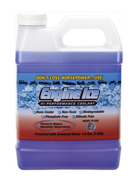 Cyclelogic Engine Ice Hi Performance Coolant 1/2 Gal