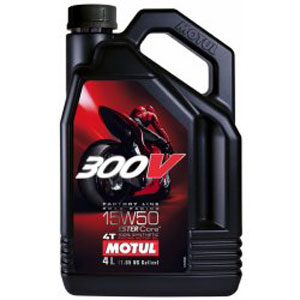 Motul 300V Full Synthetic Motor Oil 15W50 4 Liters