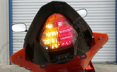 08-16 Yamaha YZF R6 TST Integrated Tail Light