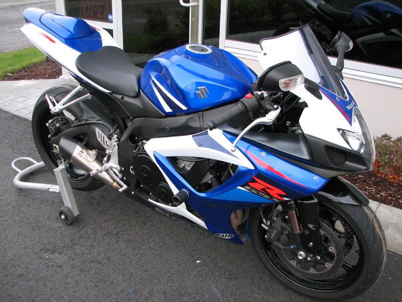Just bought an 07 GSXR 750, my first GSXR - Suzuki GSX-R Motorcycle ...