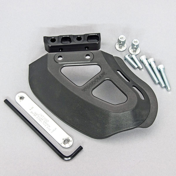 Woodcraft Wide Coverage Toe Guard Kit
