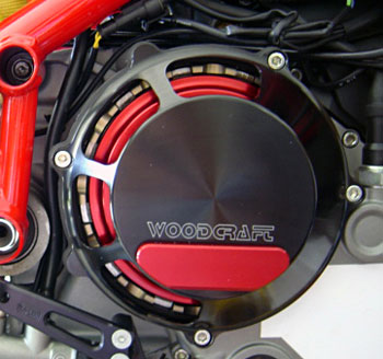 Ducati 748/1098/1198 Woodcraft CFM Racing Clutch Cover