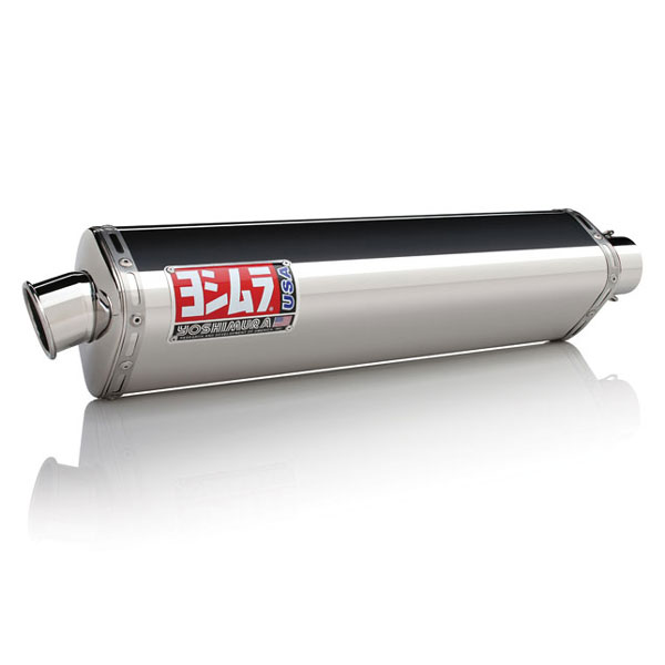 03-04 Kawasaki ZX6R/RR Yoshimura TRS Slip-On Exhaust Stainless