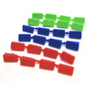 LighTech Alien Grip Lever Colour Inserts - 4 Pieces