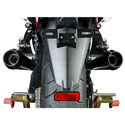 08-11 Kawasaki ZX14 M4 Retro Drag Dual Slip-On w/Black Muffler